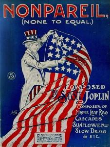 Sheet Music for Scott Joplin's Rag NonPareil