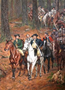 One of the Colonels at King's Mountain after Battle was won