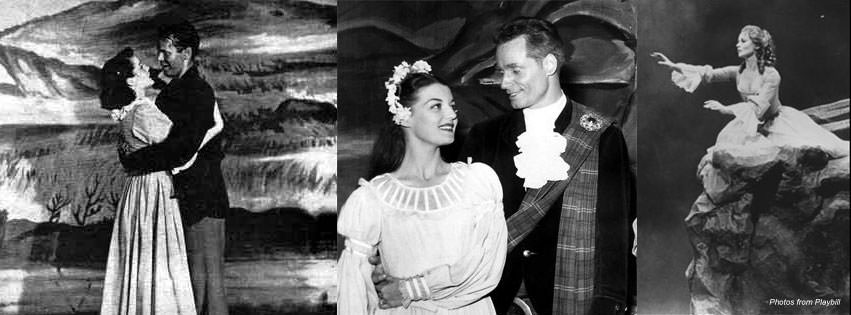 Pictures from Brigadoon from Broadway Musical Home