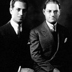 George and Ira Gershwin, American Composer and Lyricist