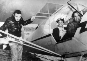 Tuskegee Airmen during training