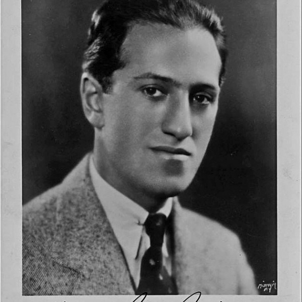 1935 signed photo of George Gershwin