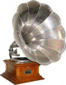 Restored Victor V Phonograph