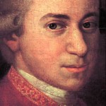 Portrait of Wolfgang Amadeus Mozart, German Composer