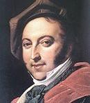 1820 Portrait of Gioachino Rossini