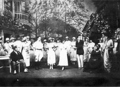 1919: Scene from London production of Kern's Oh, Boy!
