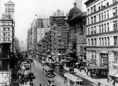 Broadway theatres 1920 Casino and Knickbocker, Listen Lester