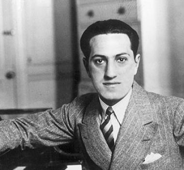 George Gershwin and Al Jolson
