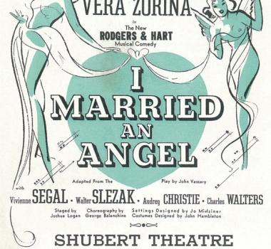 I MARRIED AN ANGEL (1938)