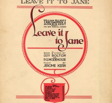 LEAVE IT TO JANE (1917)