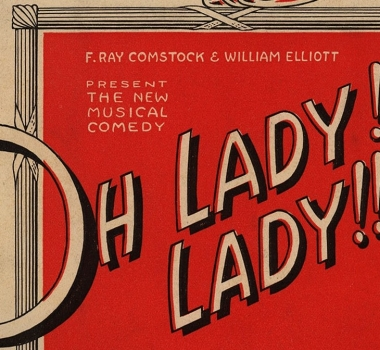 OH, LADY, LADY! (1918)