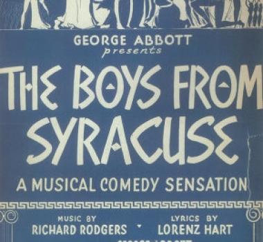 BOYS FROM SYRACUSE (1938)