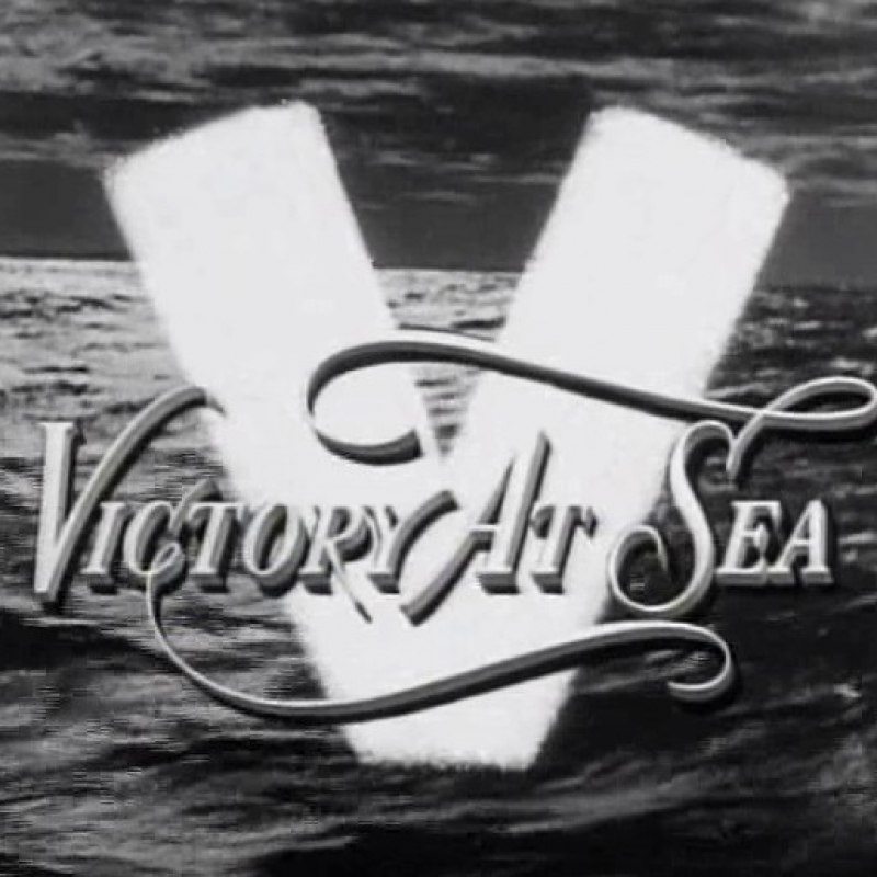 Title screen for TV show, Victory at Sea