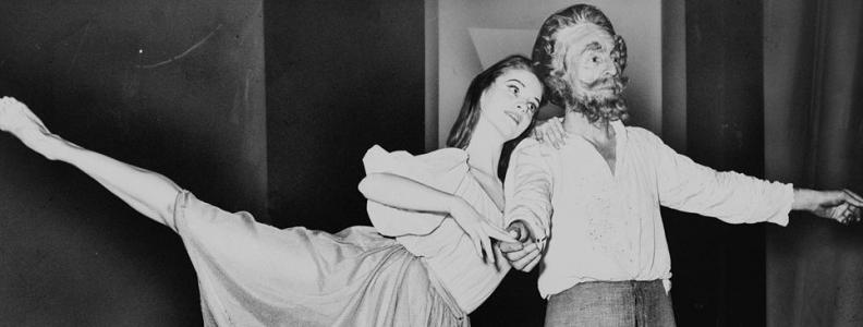 Enter Stage Right, Mr. George Balanchine