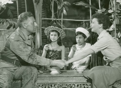 Final scene South Pacific by Rodgers and Hammerstein